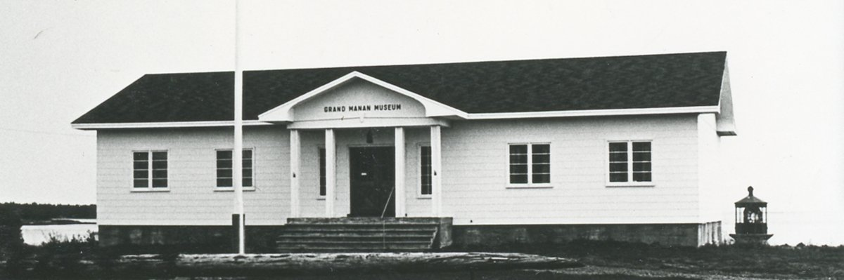 Original Museum Building first opened in July 1967
