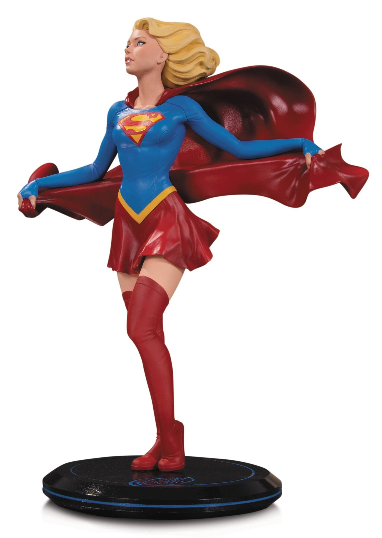 DC COVER GIRLS SUPERGIRL BY JOELLE JONES STATUE