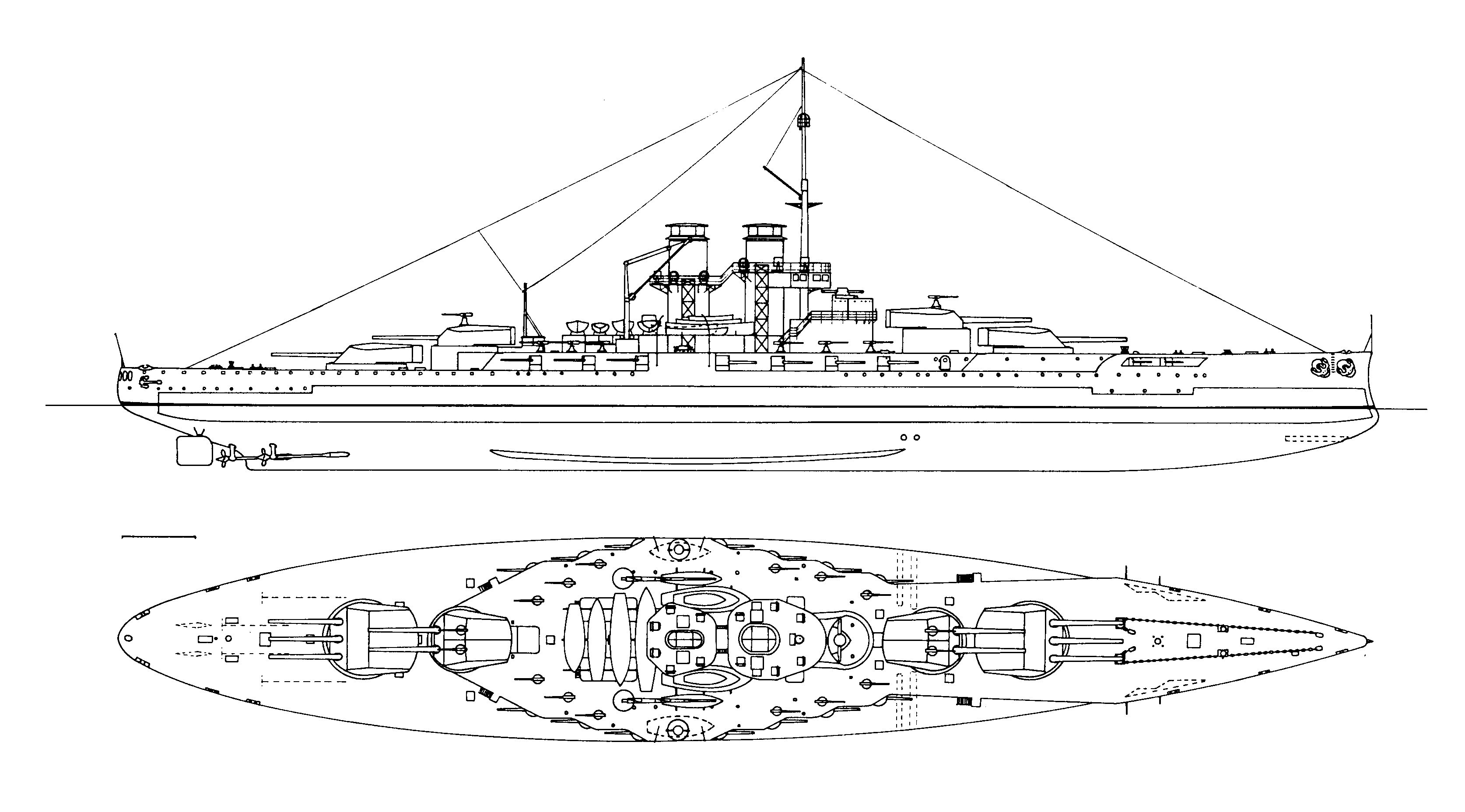 The last approved design of the improved TEGETTHOFF-class dated July 1914