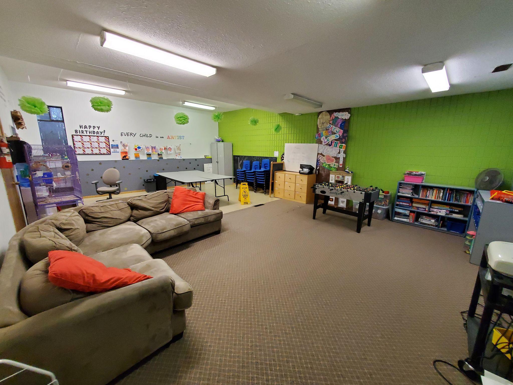 Grade 4-6 Room