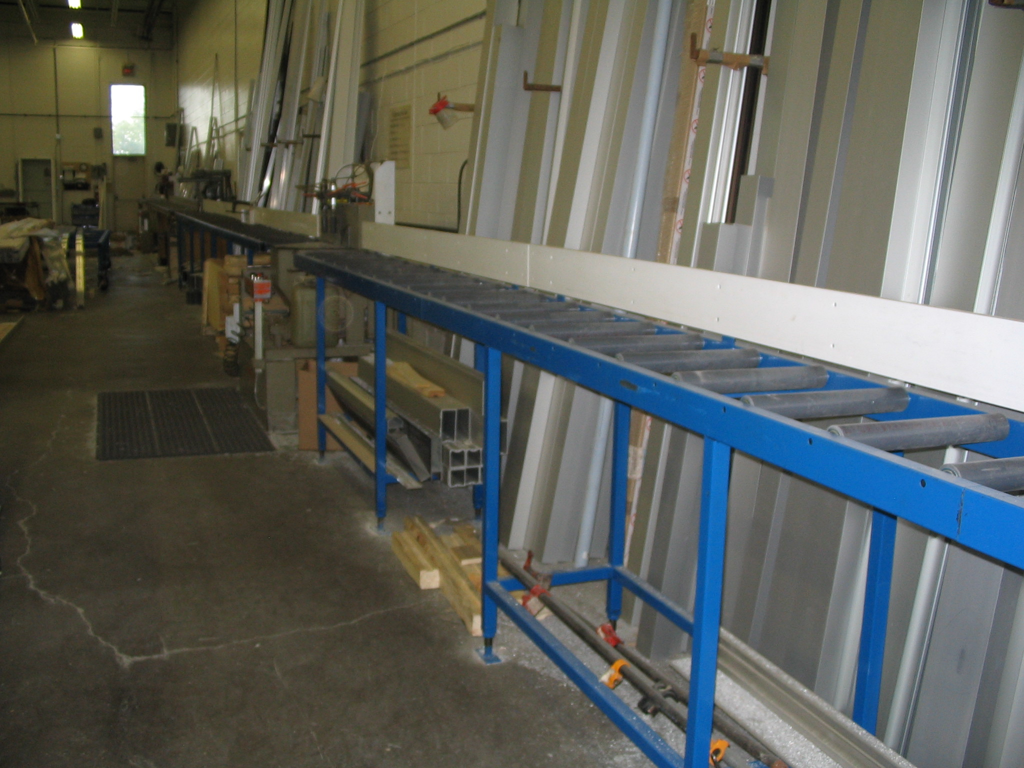 Saw Table Roller Conveyor