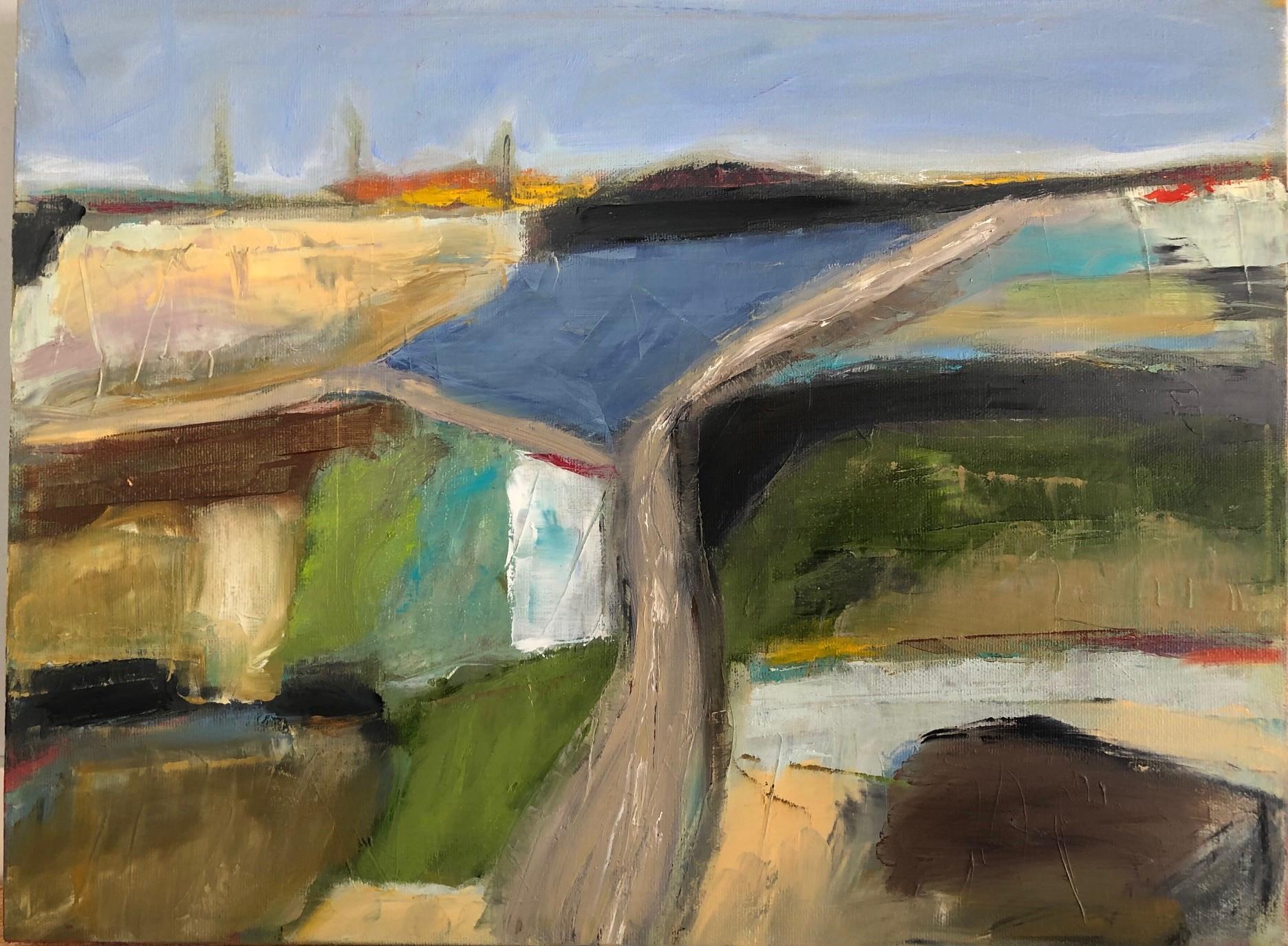 "Horizon 12"" x 16"", Oil on canvas $300"
