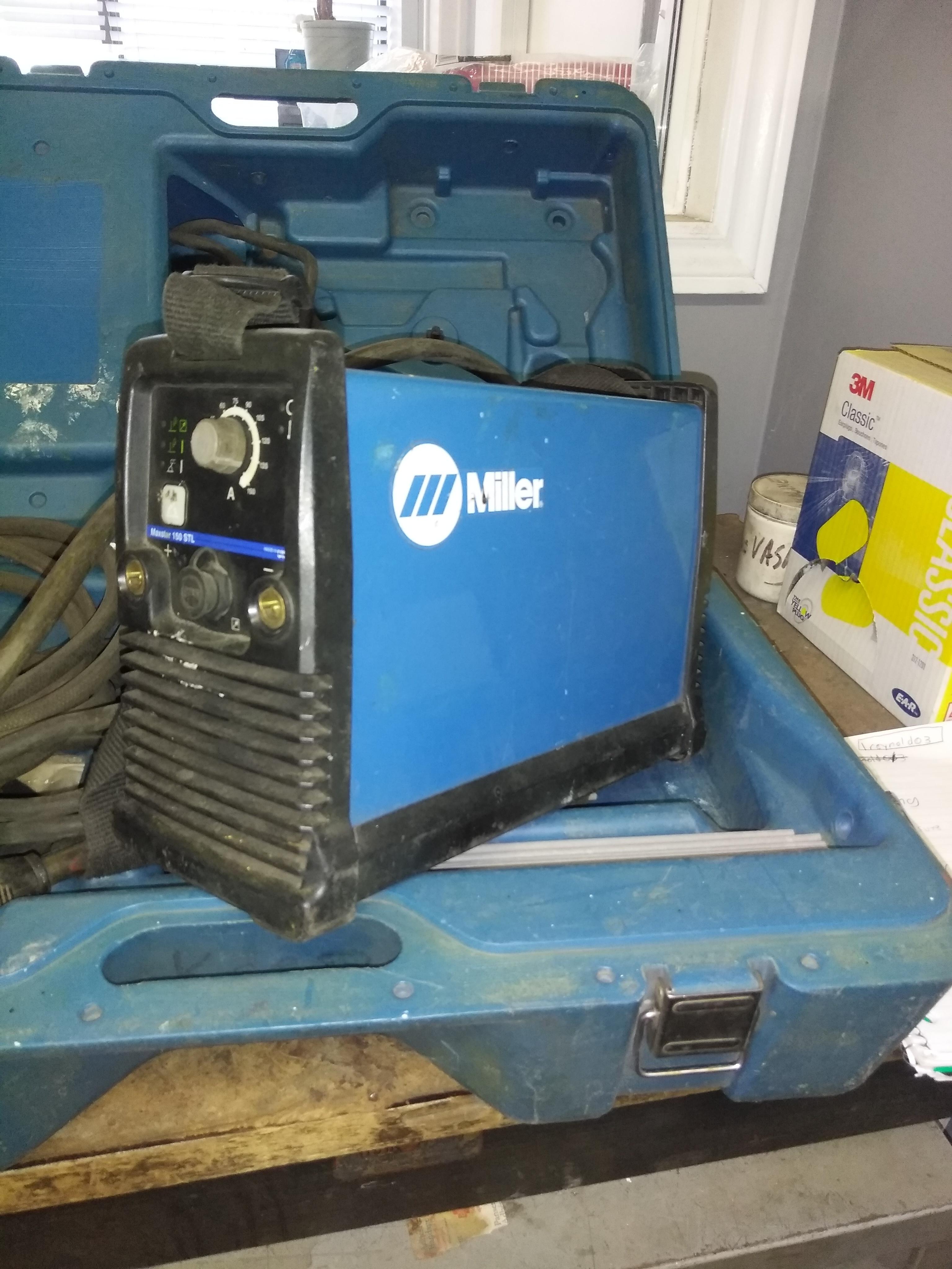 Miller Welding Machine  Quantity: 2 Cost: $1500