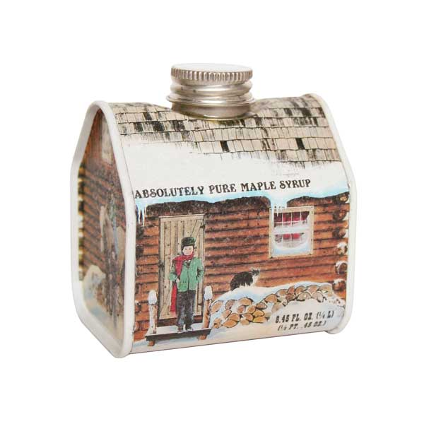 Pure Maple Syrup  - Log cabin (Cans)