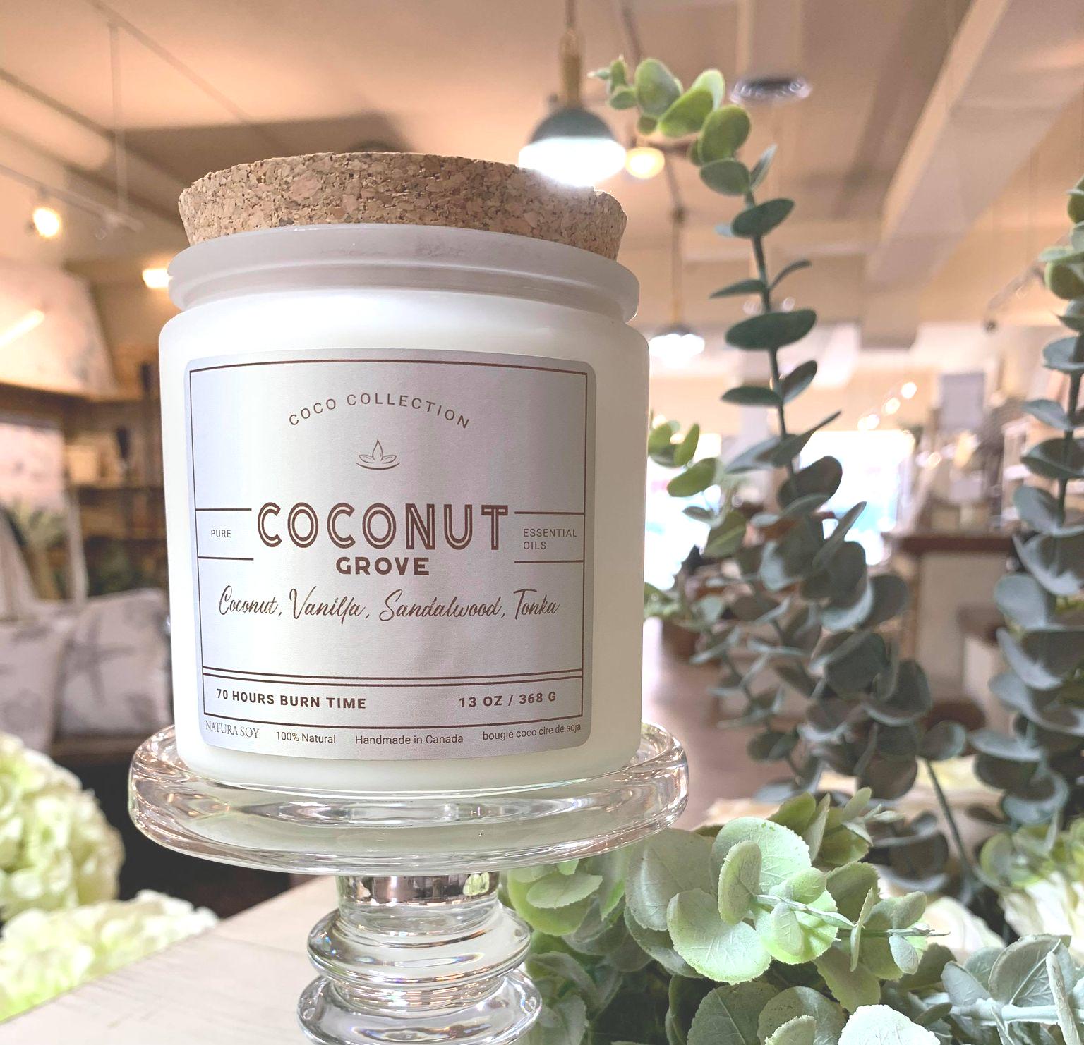 Coconut Grove Coconut, Vanilla, Sandalwood & Tonka