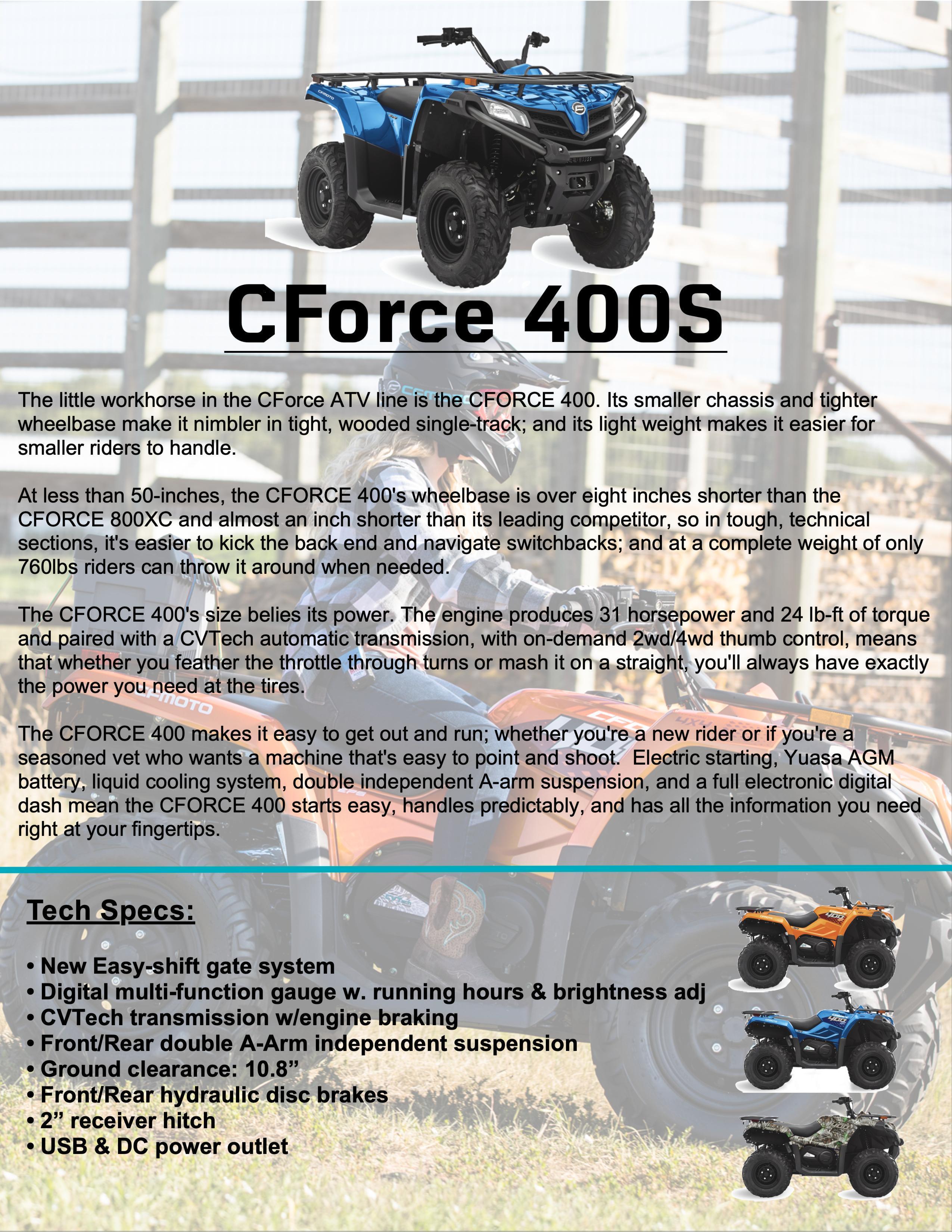 CFORCE 400s