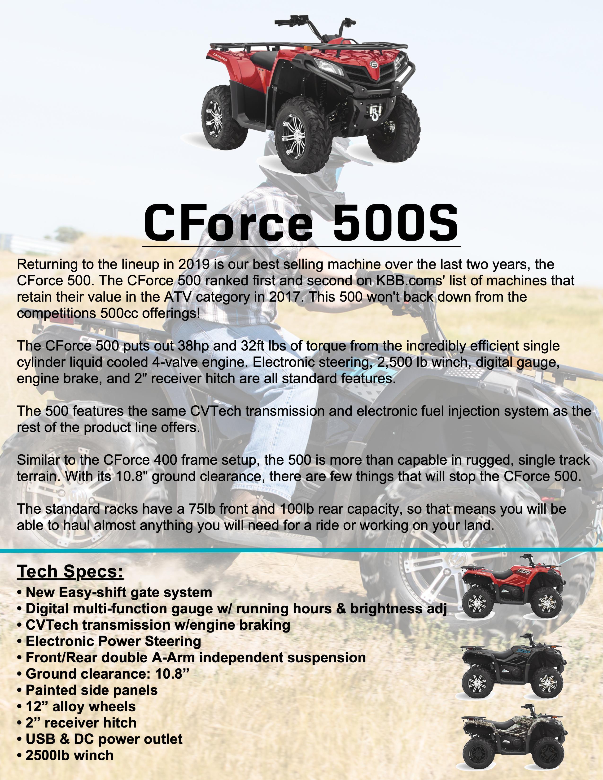 CFORCE 500S