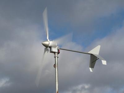 1 KW turbine in operation
