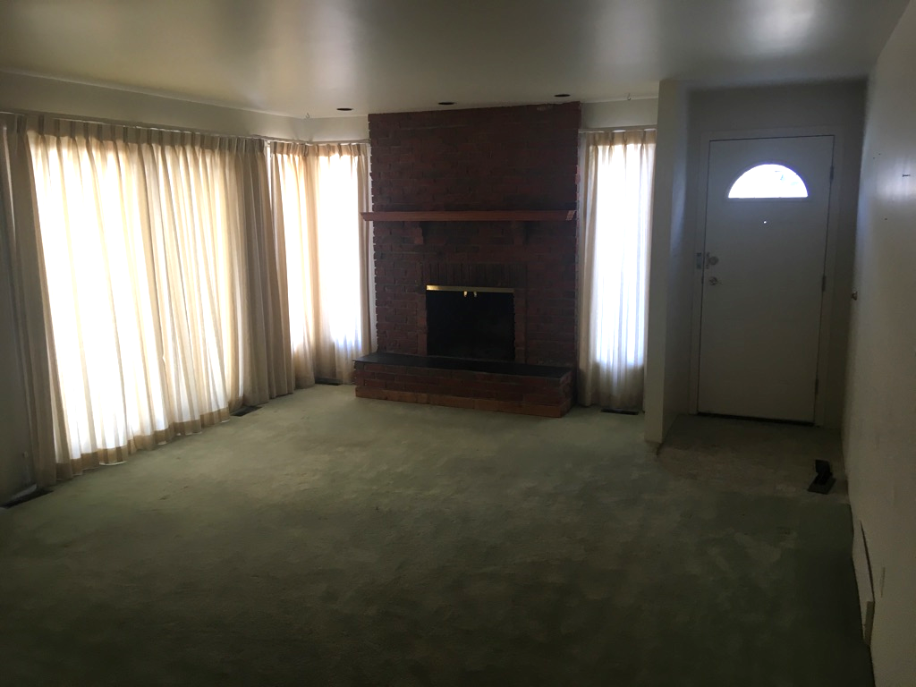 Living Room - *Fireplace has been removed