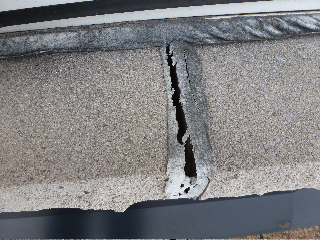 Cracked Window Sill Joint