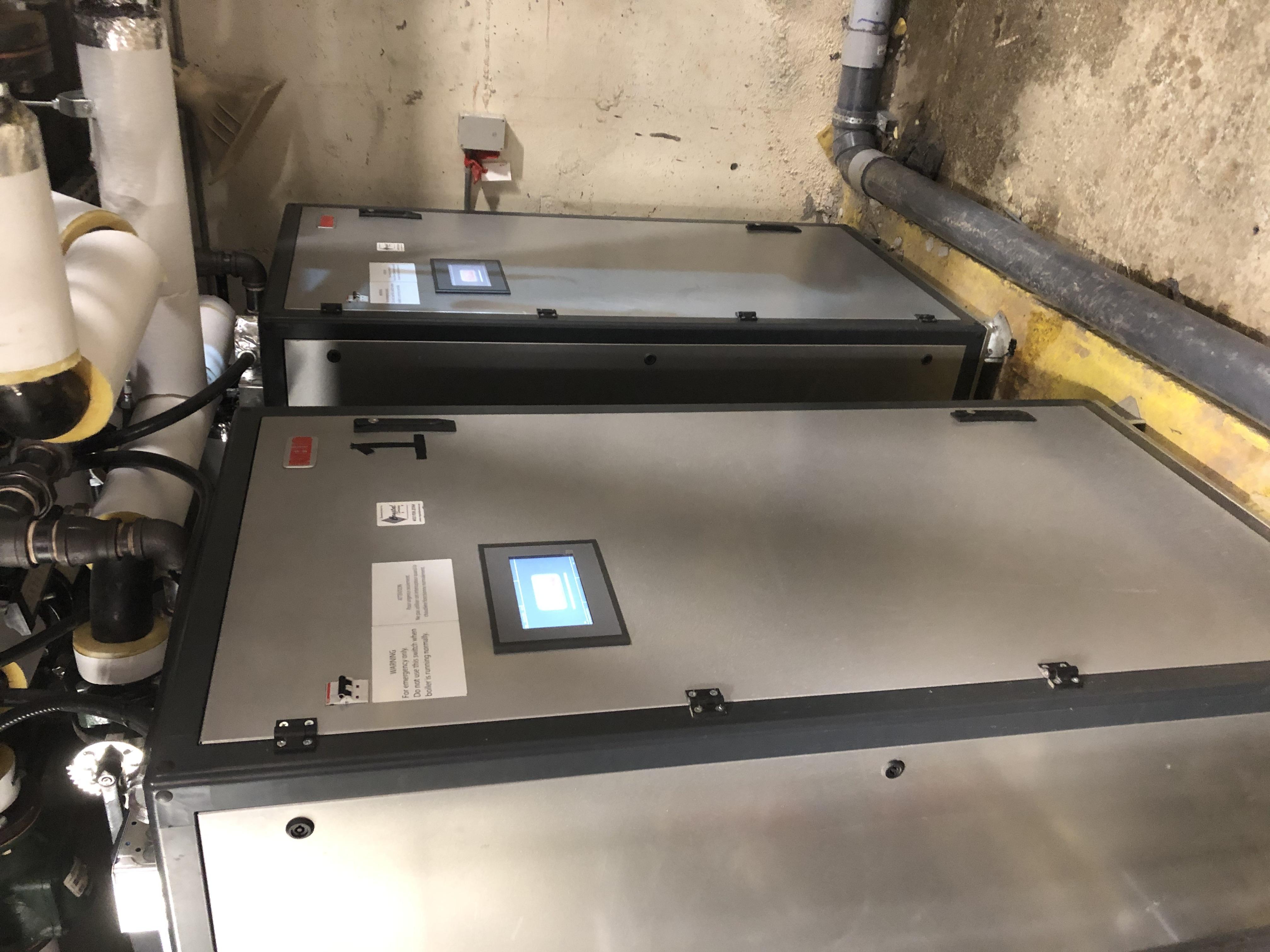 Riello ARRAY™ Boiler retrofit 2x AR-1000