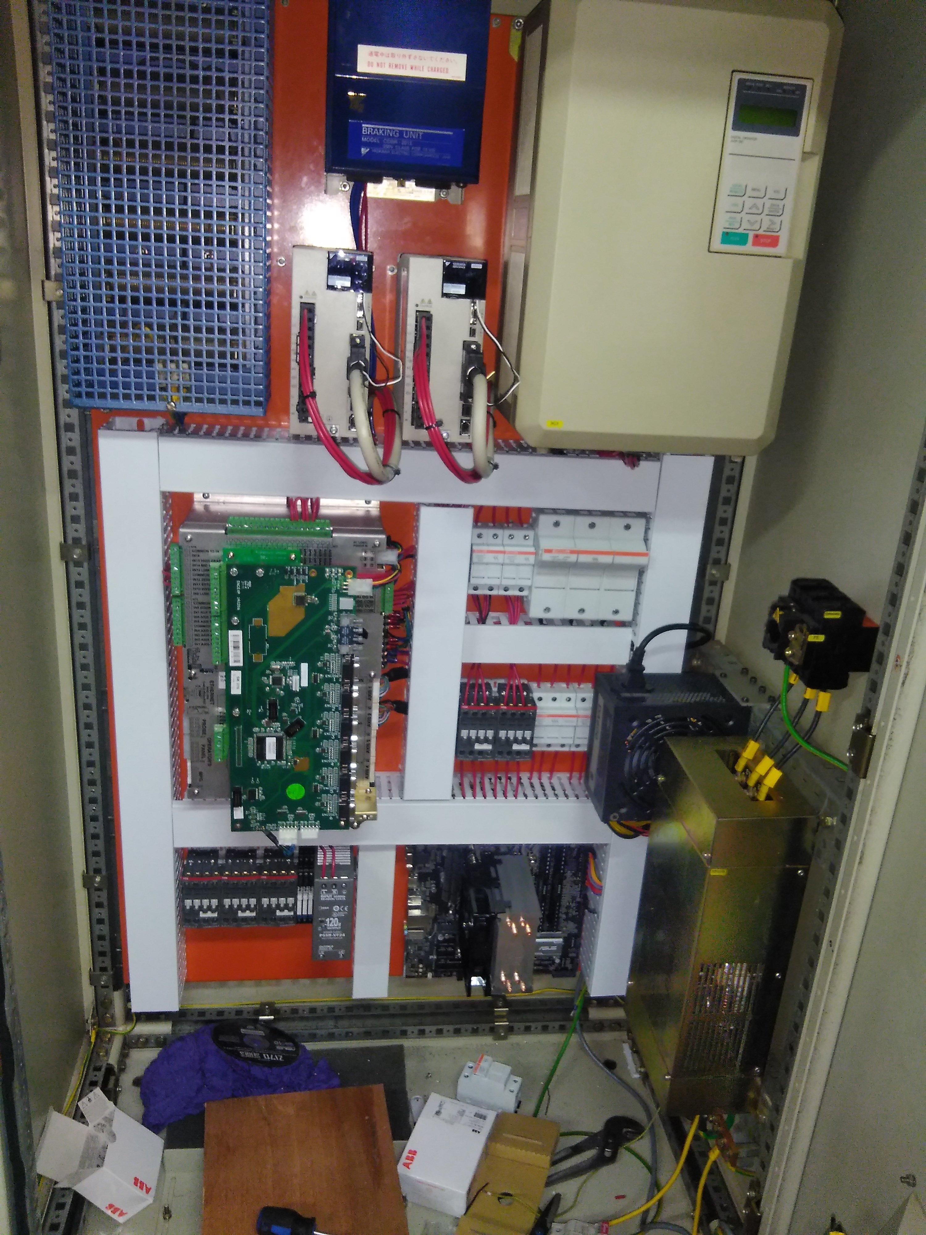CNC Lathe Controller Upgrade