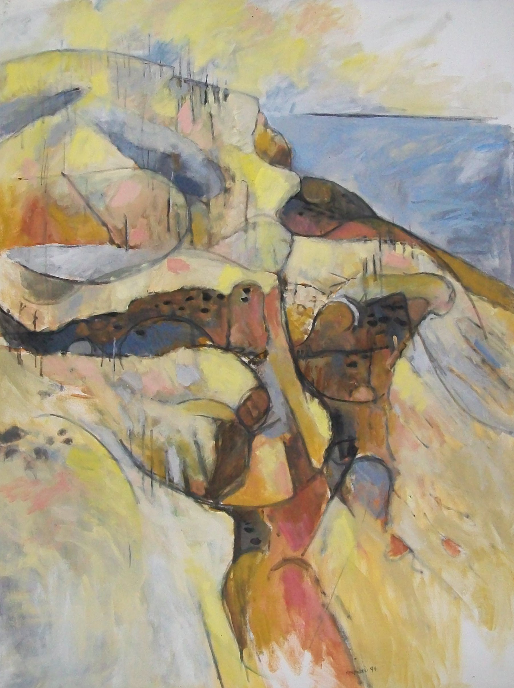 February, 1994, oil on canvas