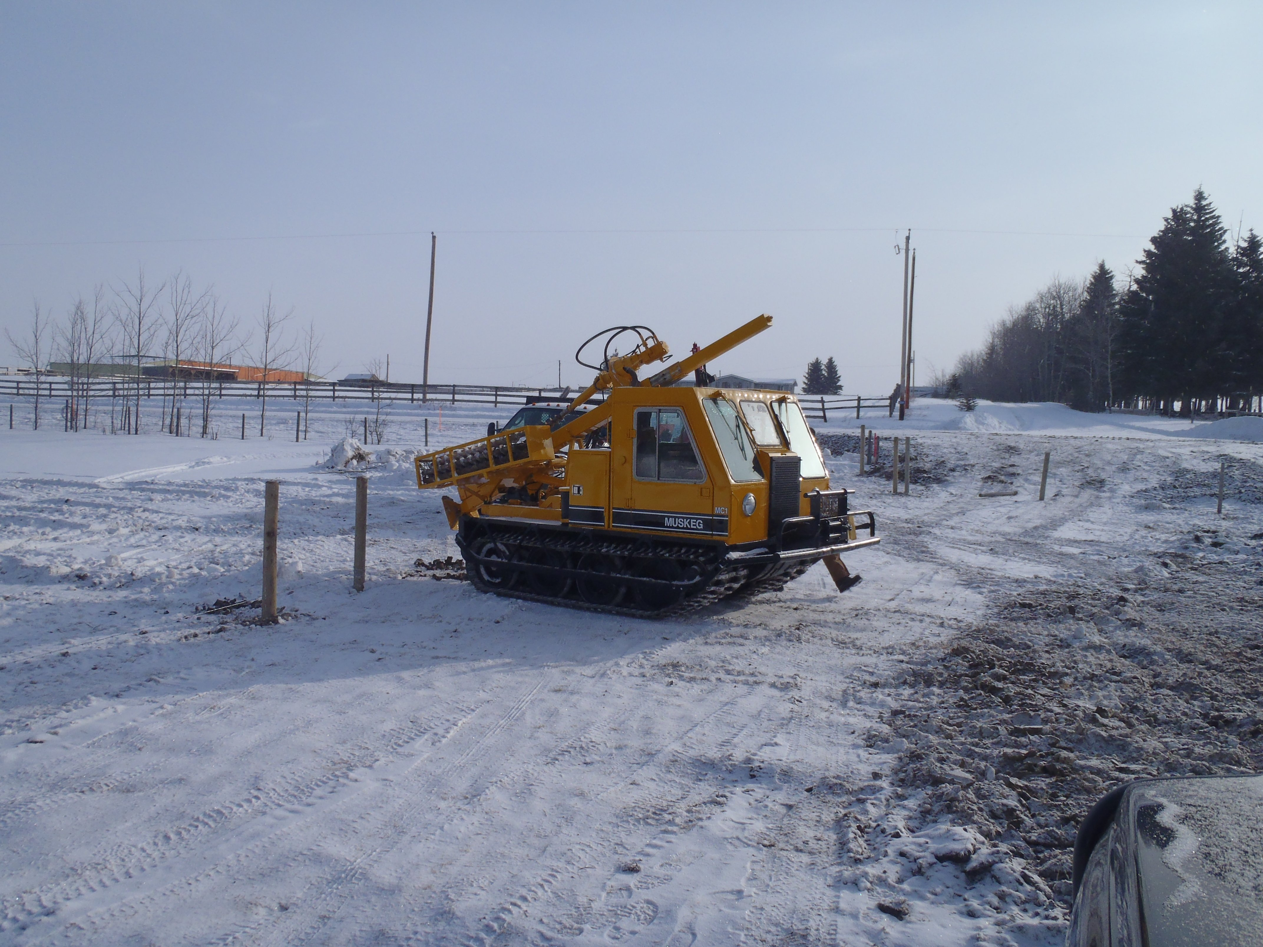 Tracked Muskeg Carrier
