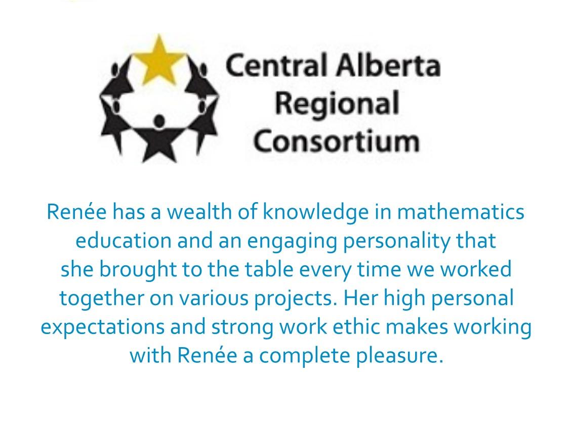 Sandi Berg Curriculum Implementation Support Consultant Central Alberta Regional Consortium (CARC)