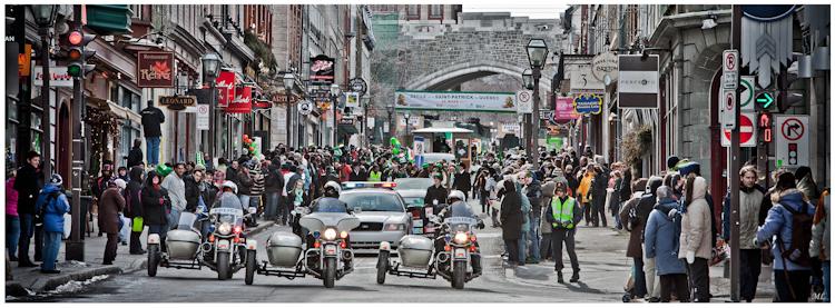 T7993  Défilé de la St-patrick  de Québec - 26 mars  2011
