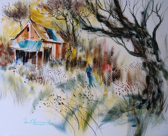 A Country Life Watercolour