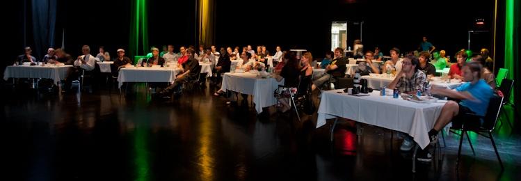 Ryan Woodward  Conférence à la salle  Méduse  5 aüt 2011 X3024