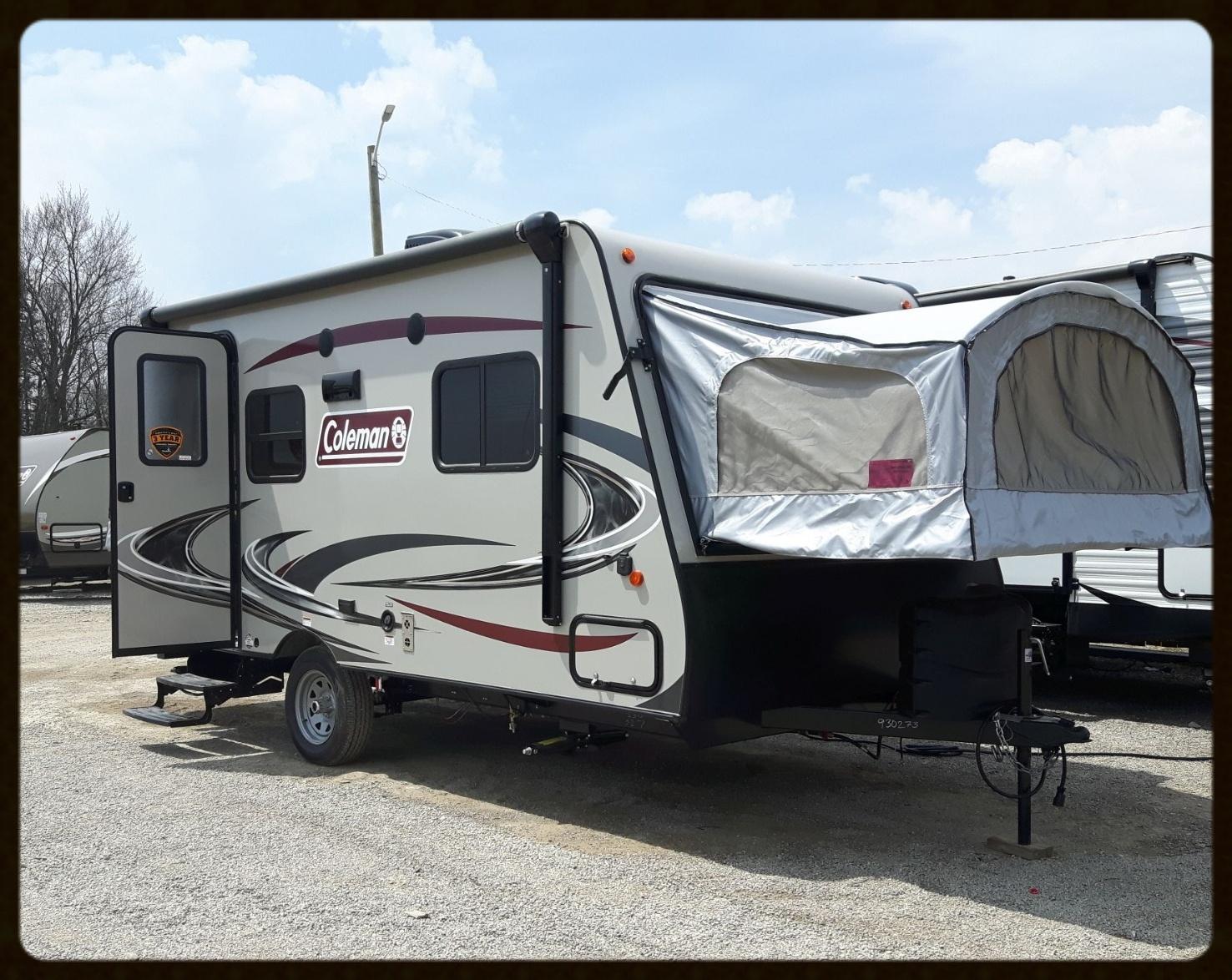 Coleman 1601exp trailer