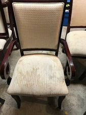 dining chair cleaning