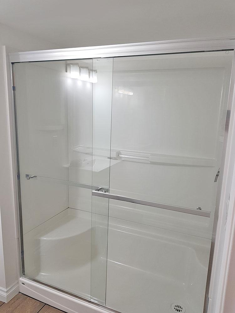 Infinity Slider Shower Door