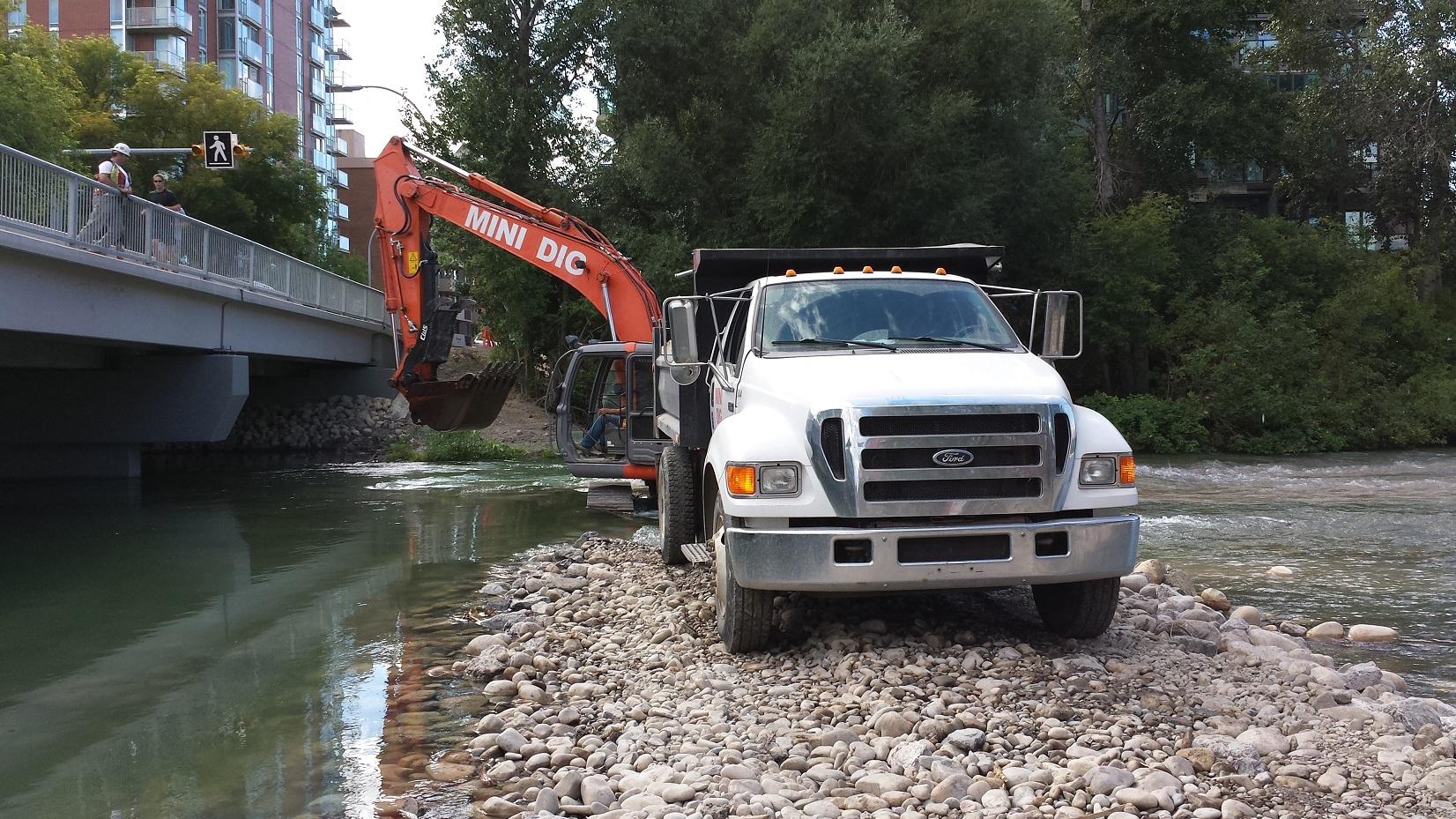Mission Bridge Flood Rehabilitation Calgary
