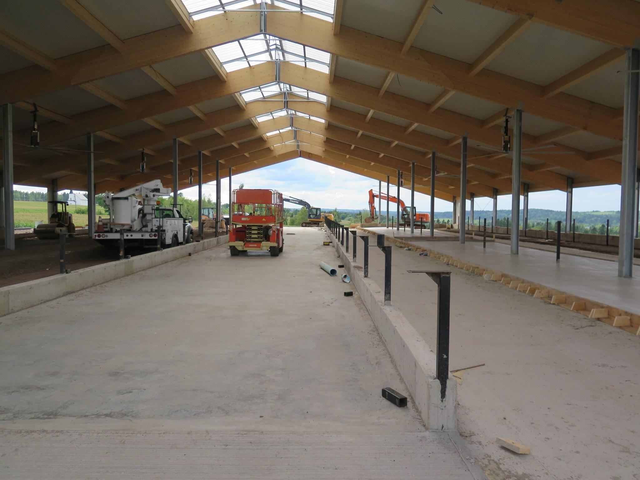 2016 Salisbury, NB - Dairy barn