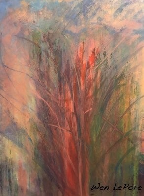 "The Color of the Season oil on canvas 24"" x 30"""