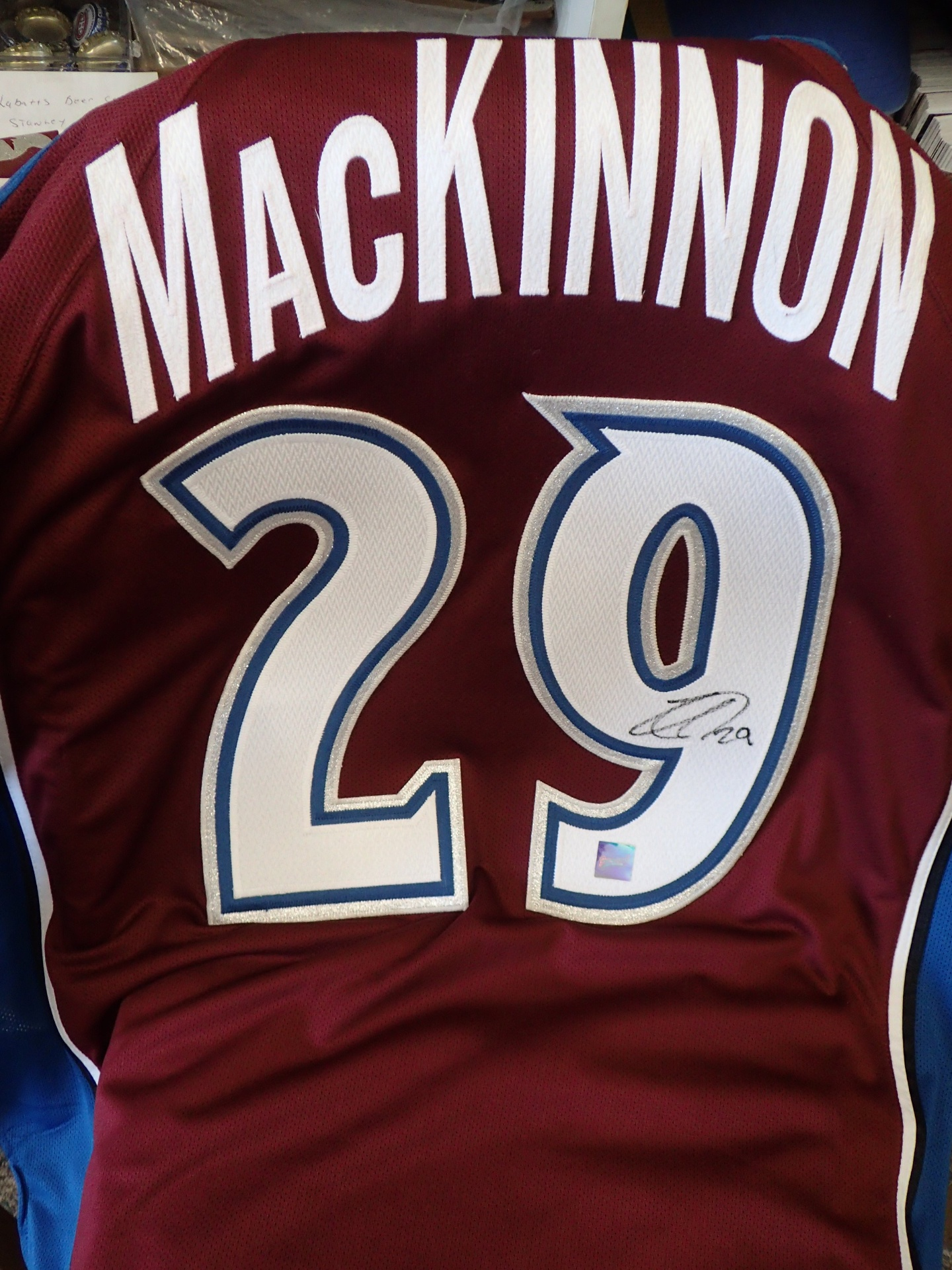 Nathan MacKinnon Frameworth Jersey