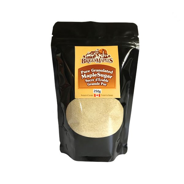 Pure Granulated Maple Sugar- bag