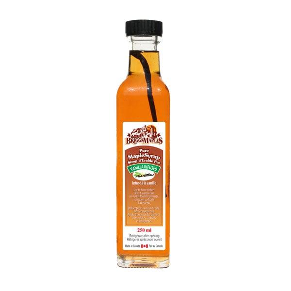 Vanilla Infused Maple Syrup
