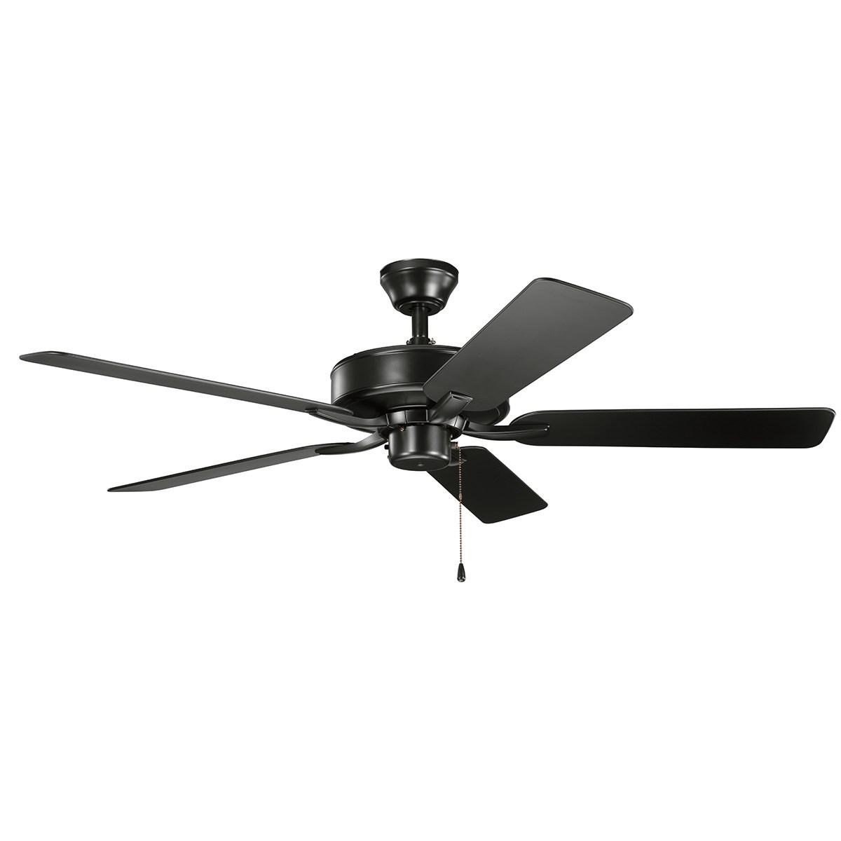 """525 330015 SBK 52"""" damp rated fan in black Regular Price $279.99 Sale Price $251.99"""