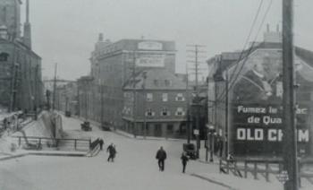 Boutique Méridé Gilbert, Côte du Palais et coin St-Vallier c. 1930