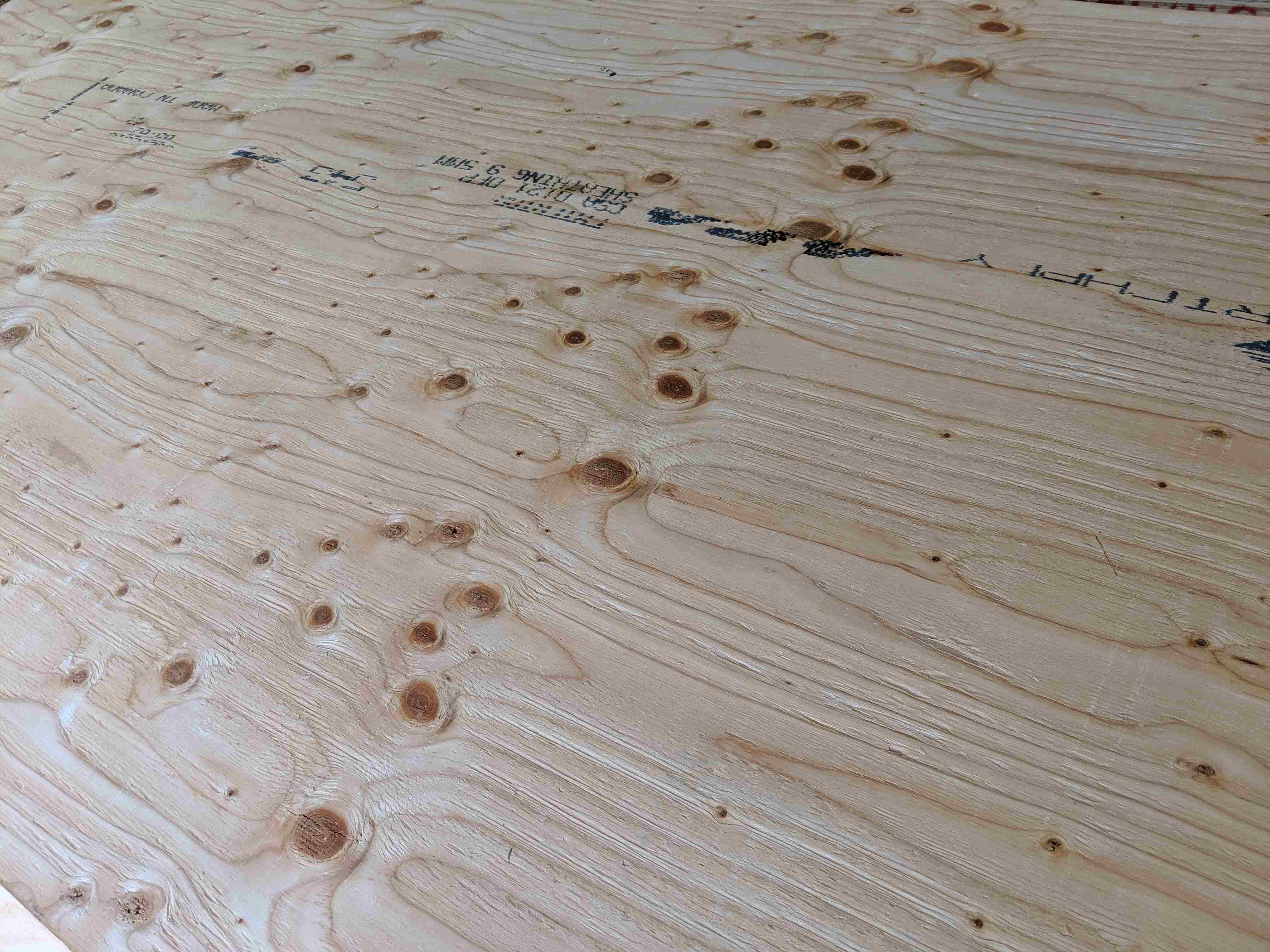 Unsanded Standard Plywood