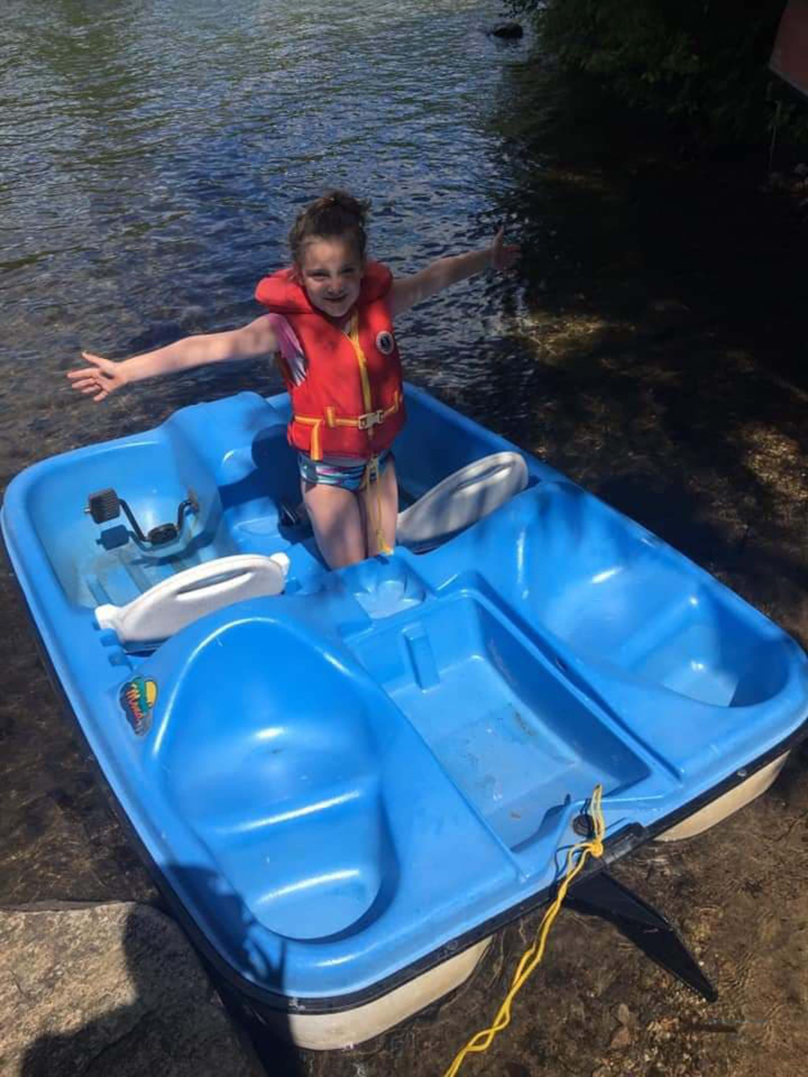 Pedal boat paddle boat