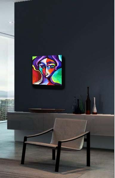 painting in a room original fine art martina shapiro