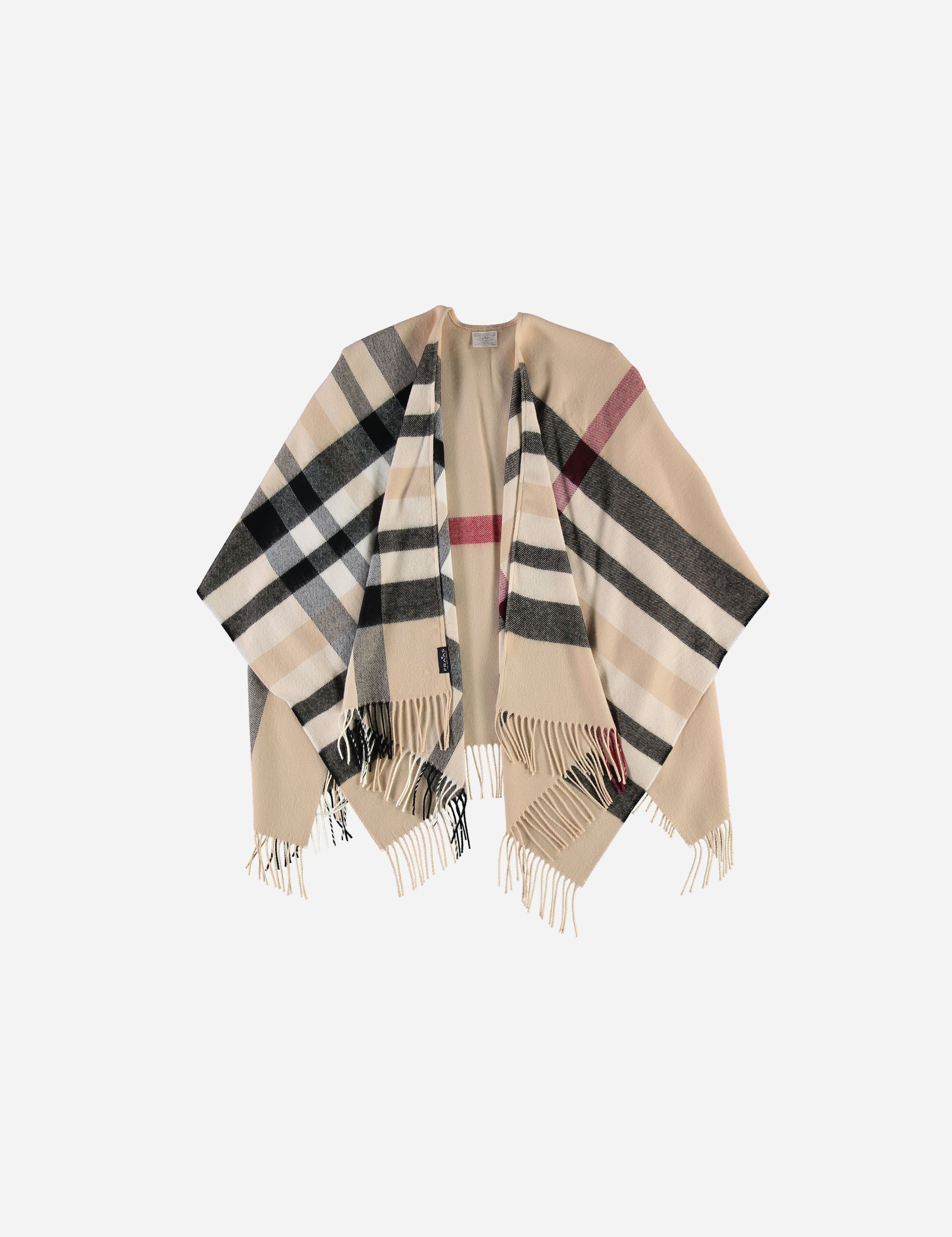 Off White Cape- $70.00 Polyester, Made in Germany 4035419157898