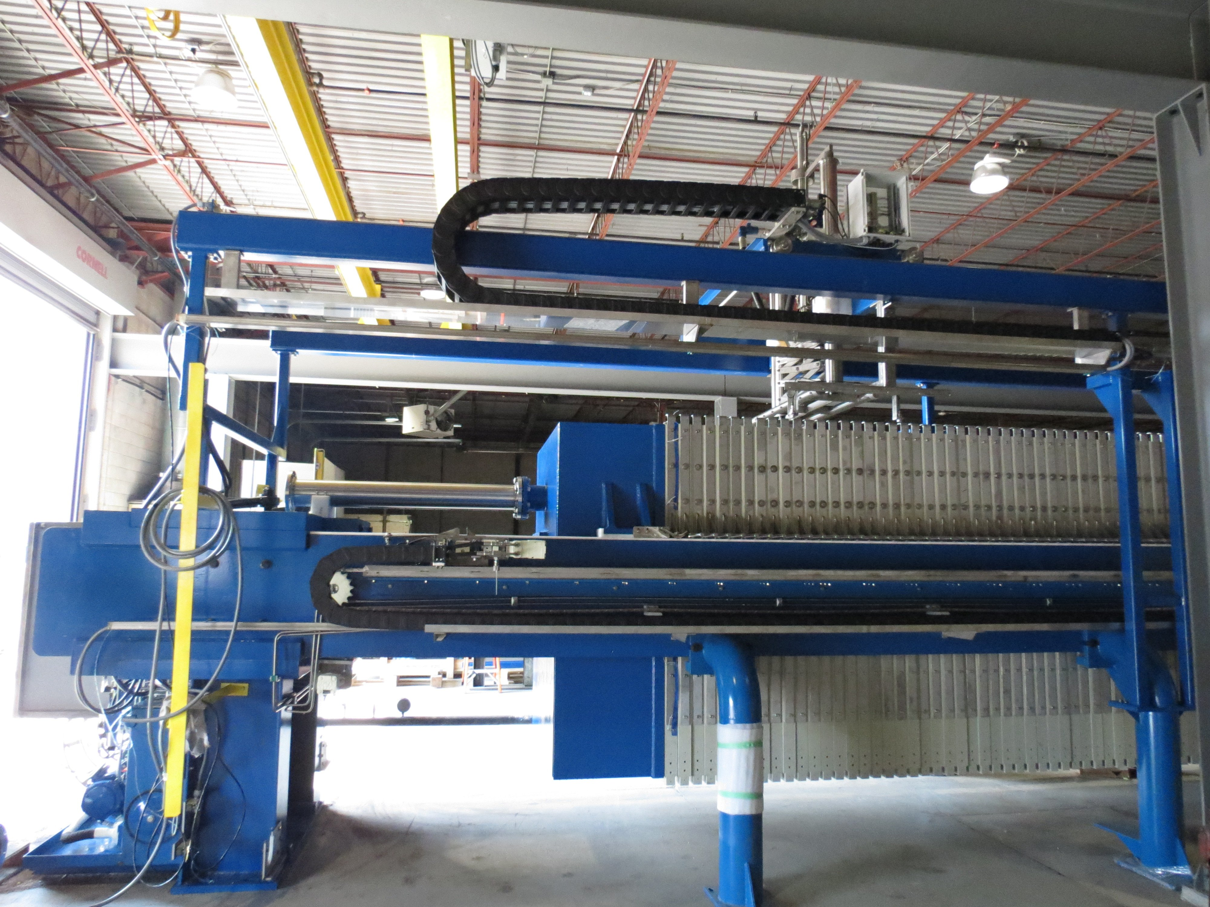Automated Side Bar Press