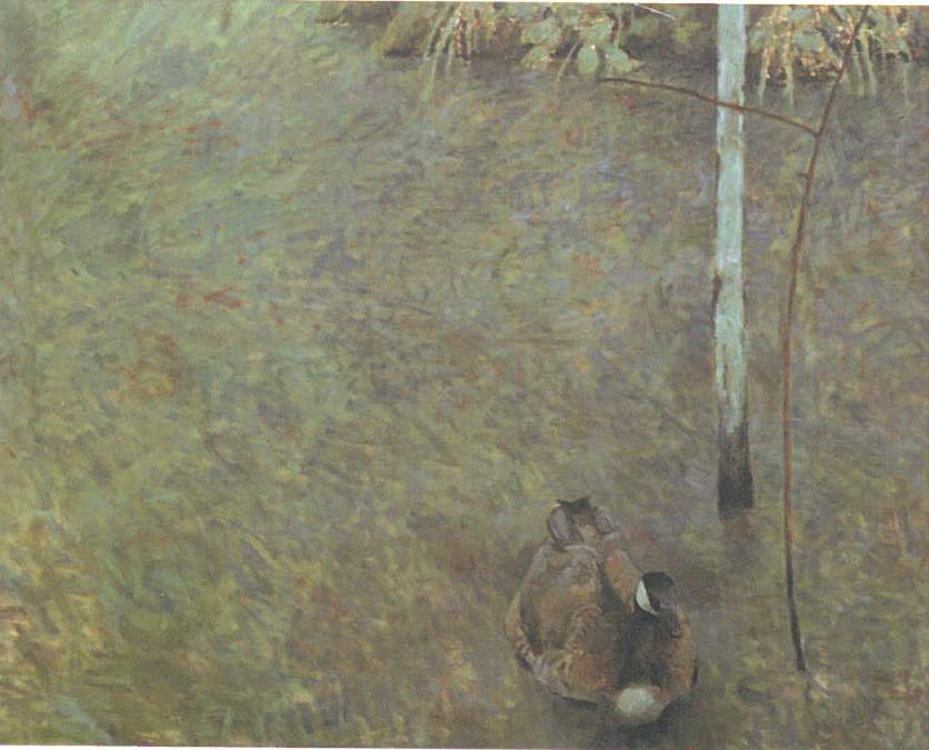 Solitary Moment, 1999, oil on canvas