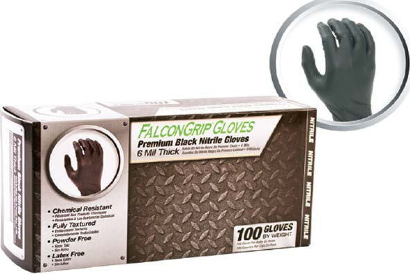 Falcon Grip Nitrile Gloves