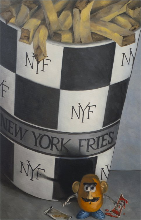 "Small Fry 24"" x 36""  oil on canvas"