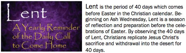 Lent 2019 Newsletter