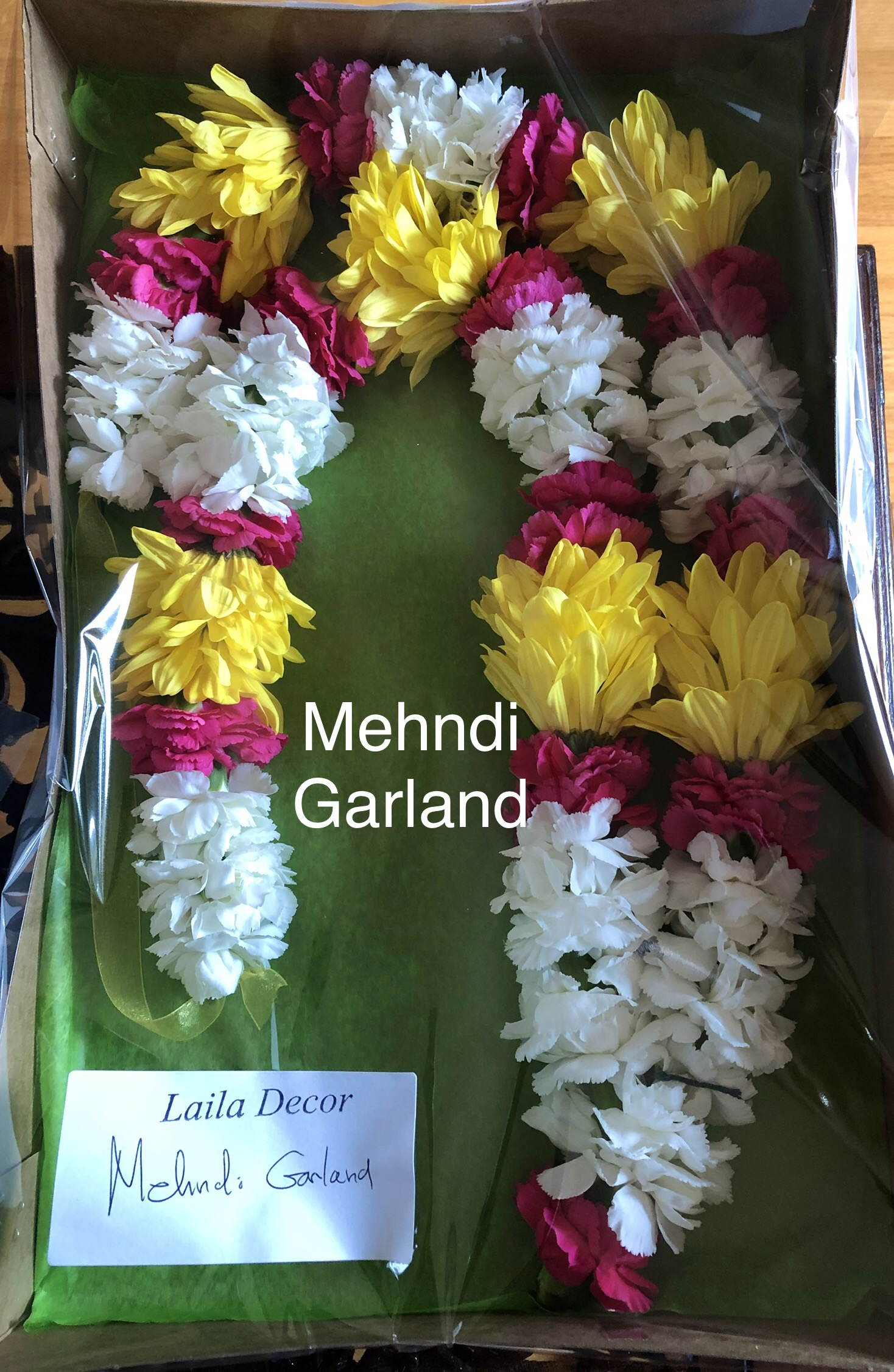 Mehndi Garland     Toronto Mississauga   LAILA DECO