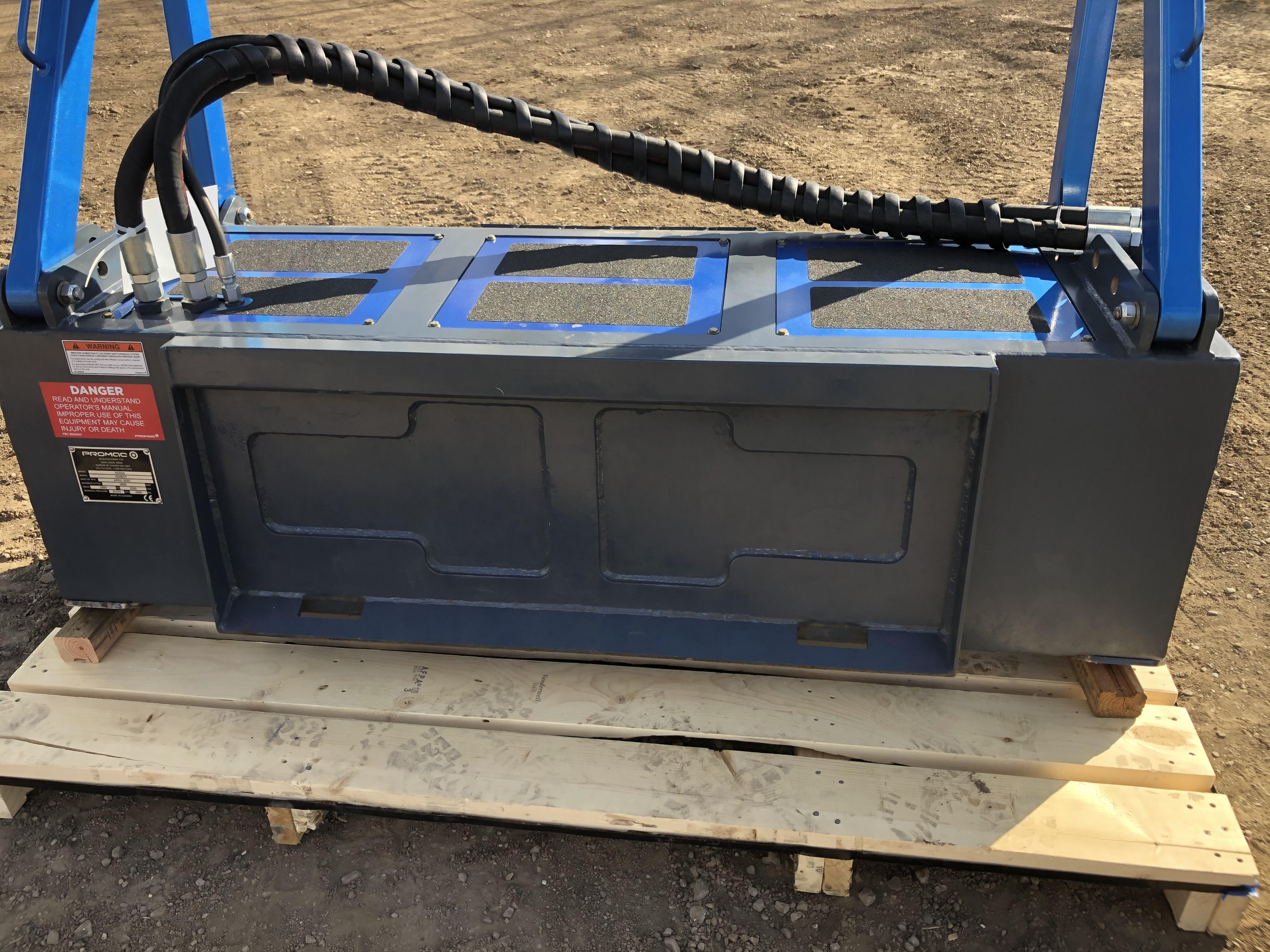 Heavy duty, fully welded frame.