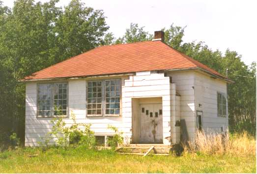 Buttertown School (River Lot #6) Built in 1948. Photo Credit: Marilee Cranna Toews