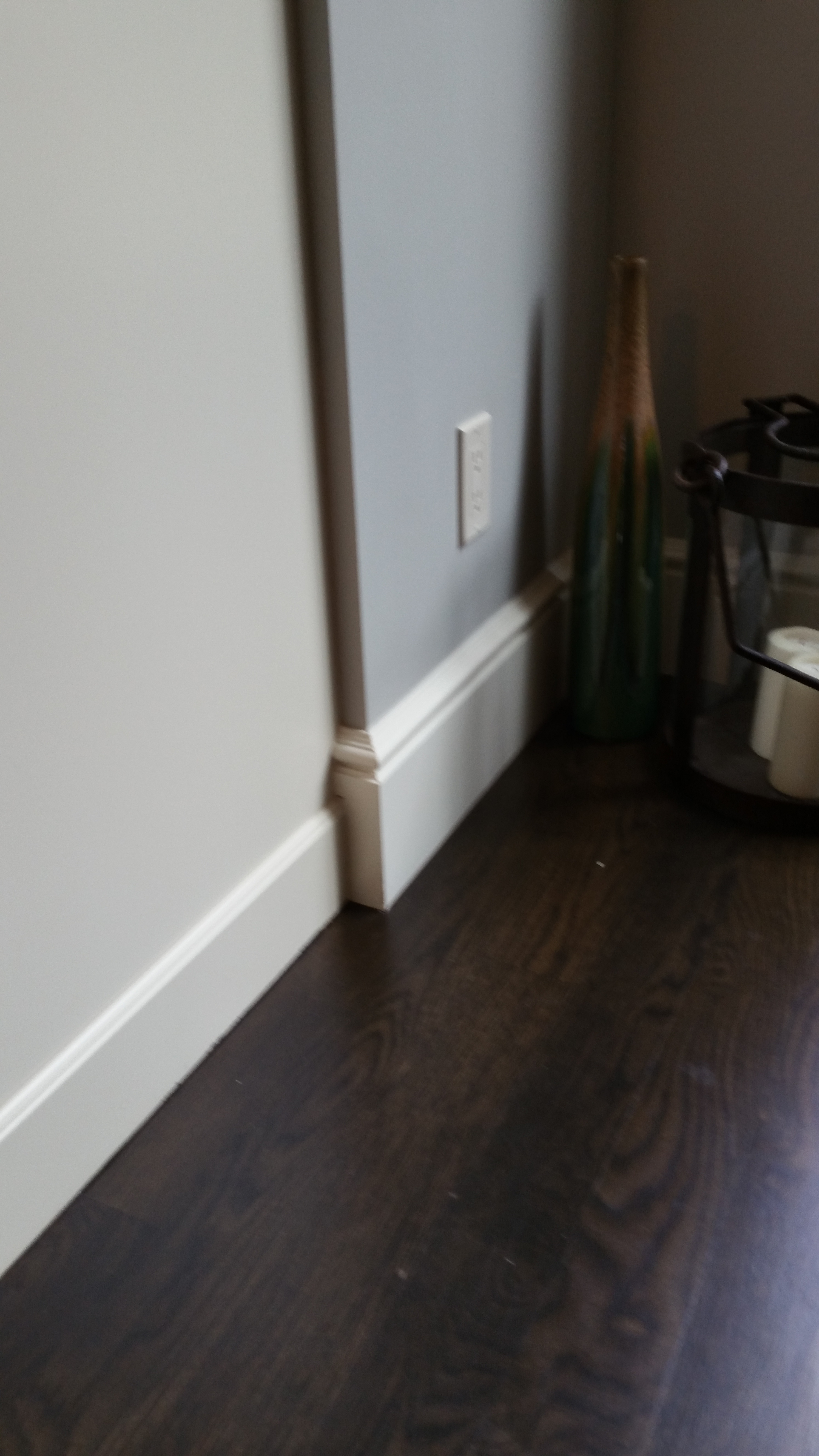 Before: baseboard detail