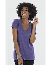 Ladies' Blend V-Neck Tee
