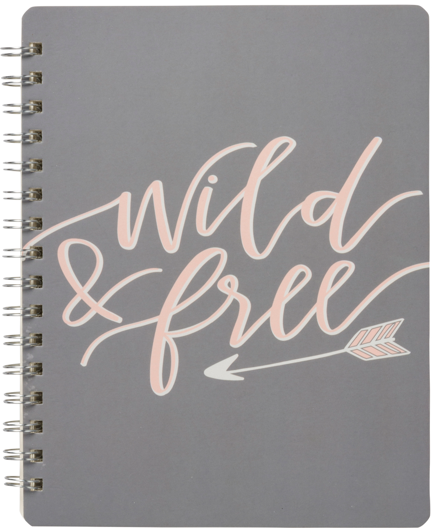 "Soft cover, spiral bound. 120 lined pages.  7"" x 9""  $14.99 4 available"