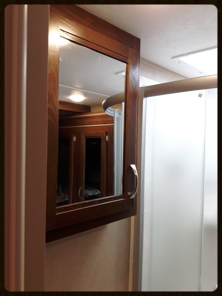 Coleman travel trailer interior