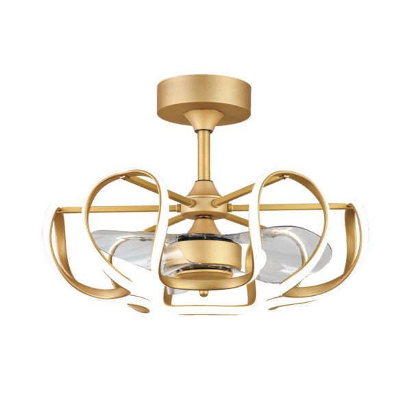 """173 9373-01-GLD 25"""" in Gold with Integrated LED Regular Price $374.99 Sale Price $236.99"""